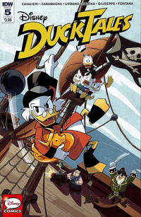 Ducktales Issue 5 Cover